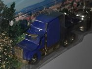 Peterbilt USSattelzug mit SudpfannenBraugold Truck Modell H0 - Nürnberg