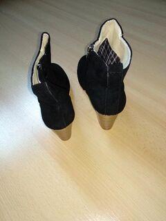 Damen Stiefeletten NEU khaki und schwarz Gr.38 - Mörfelden-Walldorf