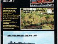 mbz modellbahn-zeitschrift Jahr 1993/94, Heft Dezember / Januar BR 01 - Nürnberg