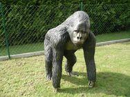 Affe Gorilla Dekofigur für Haus und Garten - Hergisdorf