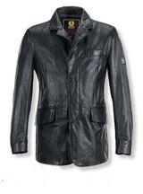 Belstaff New Marten Leder Blazer Black Schwarz Lederjacke