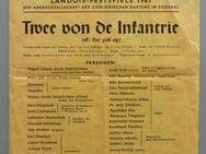 """Landois-Festspiele 1963: """"Twe von de Infantrie"""", Programmblatt - Münster"""