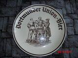 Alt Teller Bier Brauerei DUB Geklebt Dortmund Werbung