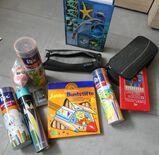Buntstifte, Schlamper Faulenzer herlitz, paperzone Mäppchen, Paula-Schlüsselanhänger...