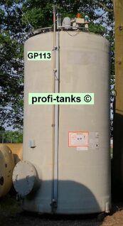 GP113 gebrauchter 15.800 L PVC-GF-Tank Lagertank Flachboden vertikal stehend Wassertank Futtermitteltank Rapsoeltank Regenauffangtank Gülletank - Nordhorn