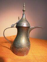 Antikes Tee- oder Moccakännchen aus Messing / Kännchen Naher Osten, Persien