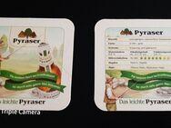 Das leichte Pyraser Landbrauerei Bierdeckel BD Bierfilz Coaster - Nürnberg
