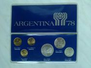 Münzsatz Argentina 78 Argentinien 78 Münzen 1978 - Hagen (Stadt der FernUniversität) Dahl