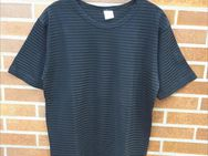 Shirt, leicht transparent schwarz, Größe: 40/42