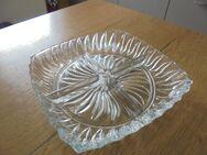 Glasschale - Kristalschale 4 teilig - Plattling