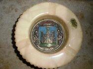 Schmuck Aschenbecher Ibiza Spanien Alabaster Relief Emblem - Bottrop