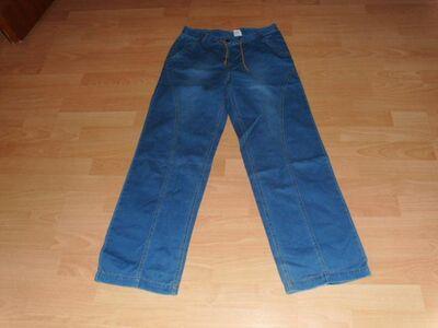 Jeans, blau mit Zugband, Gr. 40 - Bad Harzburg Zentrum