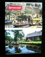"älteres Andenkenmäppchen "" Spreewald"""