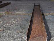 Stahlträger, Eisen, U-Profil, U-Träger; 221cm lang, 10 cm breit x 6 cm hoch - Bad Belzig