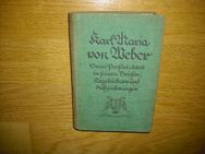 Karl Maria von Weber - Seine Persönlichkeit in seinen Briefen, Tagebüchern und Aufzeichnungen. Herder Verlag 1924