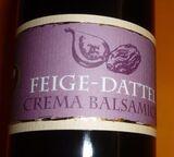 Feige - Dattel Essig Crema Balsamica  3% Säure       250 ml