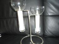 Rosenthal Aqualux Leuchter Silber 2-lichtig - Marl (Nordrhein-Westfalen)
