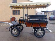 Neue Wagonette mit Dach! - Buttstädt