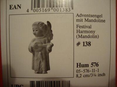Hummel 576-Adventengel - Essen