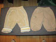 neu, 2 kuschelige babyhosen, gr. 62, beige, gummibund - Pforzheim