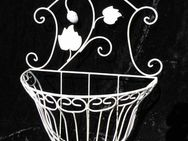Blumenkorb Höhe 45,5 cm / Wandkorb Shabby Chic / Antik Stil / Dekoration / NEU - Zeuthen