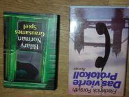 Frederick Forsyth-Das vierte Protokoll HC und Hilary Norman-Grausames Spiel HC - Euskirchen