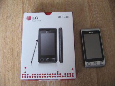 LG KP 500 Silber - Kassel Wesertor