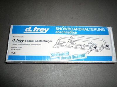 Snowboard Halter - Eisenach