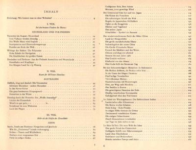 Grosse Weltreise mit A. E. Johann - ein Führer zu den Ländern und Völkern - 1956 - Zeuthen