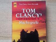 TOM CLANCY´s OP Center Teil 5 - Machtspiele. Broschierte TB-Ausgabe v. 1999, Heyne Verlag.