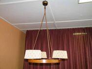 Schöne Art Deco Deckenlampe / Hängelampe aus den 30er/40er Jahren - Zeuthen