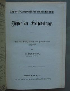 Dichter der Freiheitskriege (1904) - Münster