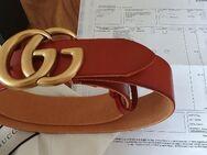 orig. Gucci Unisex Gürtel Conjak Damen Herren Belt Vintage - Nienburg (Weser)