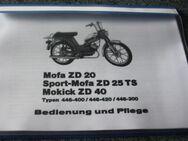 Zündapp Mofa Bedienungsanleitung - Bochum Hordel