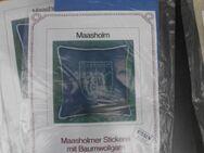 Stickmuster Maasholmer Stickerei Maasholm Wappen Schlei Ostsee Kissen Leinen ovp Stickpackung Immerwind Kunstgewerbe 5,- - Flensburg