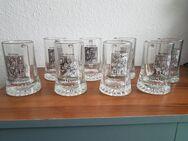 8 Gilde Sammel Krüge. Glaskrüge - Kassel Brasselsberg