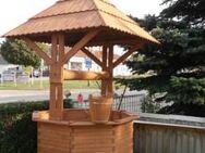 Brunnen Zierbrunnen Holzbrunnen 2,80 m Gartendekoration - Hergisdorf