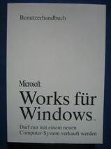 Microsoft Works für Windows Benutzerhandbuch wie neu