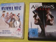 DVD Filme Mamma Mia!   und Assassins Creed - Heilbronn