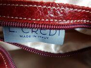 Damen lederhandtasche rot - Fürstenfeldbruck