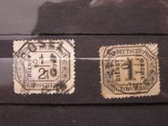NDP-Dienstmarken,1870,Mi.Nr.3+4,Lot 424