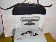 Antike Reiseschreibmaschine Bianca der 50er/60er Jahre / Sammlerobjekt - Zeuthen