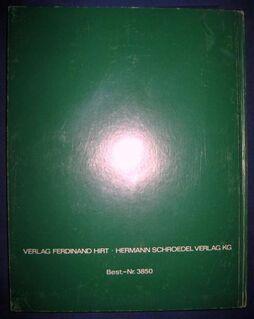 """""""Probleme der Gegenwart an Beispielen aus Europa"""" von Christian Degn, Erwin Eggert und Albert Kolb, Ferdinand Hirt Verlag, 140 Seiten, gedacht für 5./6. Schuljahr, stammt aus 1975, ASBN: B0023TZOP2 - Unterleinleiter"""