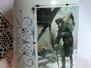 Sammlerkrug Post Weihnachten 1999 mit altem Motiv - Niederfischbach