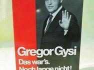 Buch Gregor Gysi - Das war's noch lange nicht / ISBN 3 - 612 - 26383 - 8 / Econ - Zeuthen