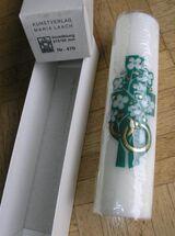 Hochzeitskerze Kerze Vermählung Kunstverlag Maria Laach NEU! OVP