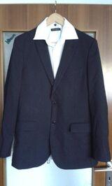 Nadelstreifen  Sakko, Jacket, Anzugjacke von H&M Gr.50 + Jupiter Hemd in S