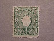 AD-Sachsen  3 Pfennig 1863-67,  MI:DE 14,Lot 664