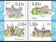"""SVZ: MiNr. 1 - 4, 01.06.2004, """"Regionale Sehenswürdigkeiten (I)"""", Satz, Seitenrandstücke, 1. Auflage, postfrisch - Brandenburg (Havel)"""