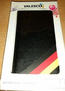 Xcase Stilvolle Klapp Schutztasche Sony Xperia Z3,schwarz Leder - Verden (Aller)